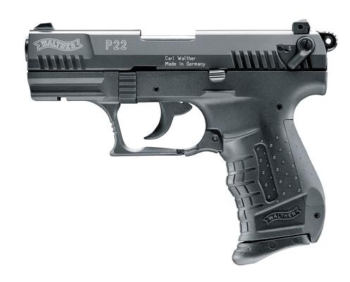WALTHER P22 P.A.K. - brüniert